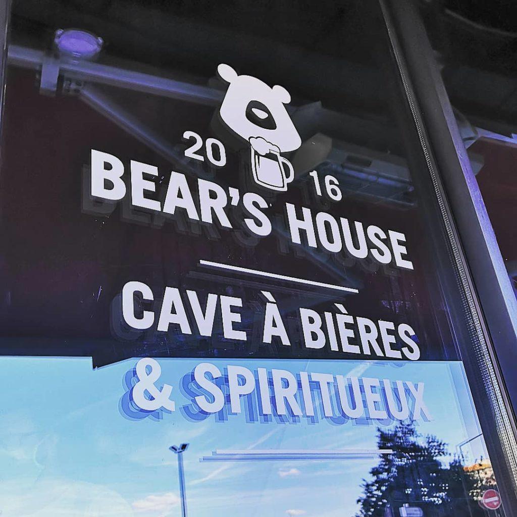 Devanture Bear's house Toulouse