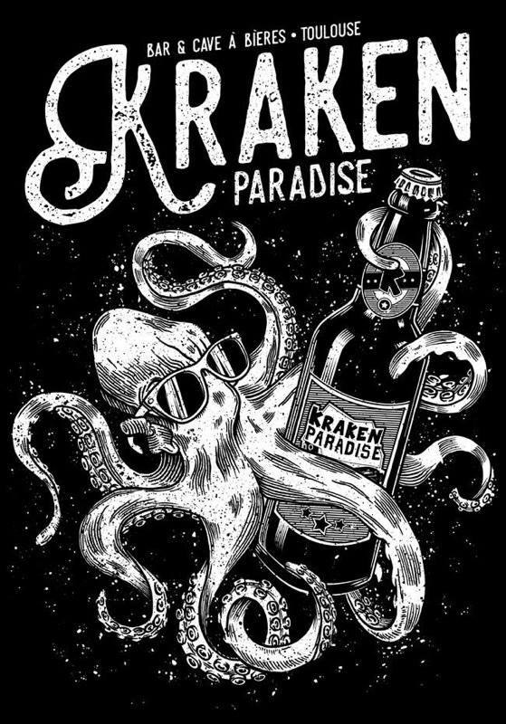 Logo Kraken Paradise