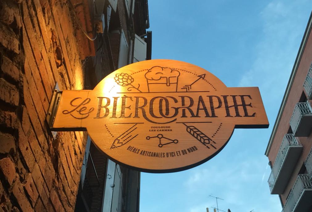 Devanture Bièrographe