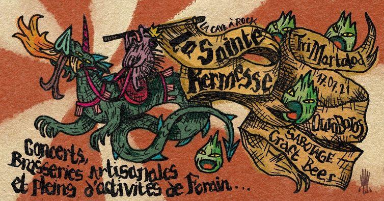 Affiche de la kermesse