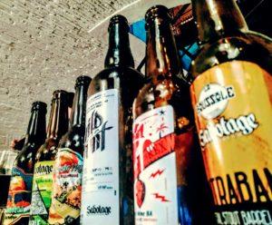 Bières de la brasserie Sabotage