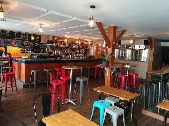 Photo de l'intérieur du bar